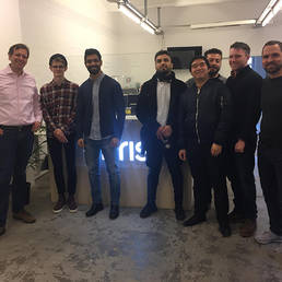 MIM class visit to Artificial Intelligence startup German Autolabs